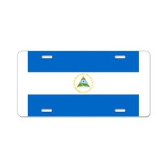 Nicaragua Aluminum License Plate