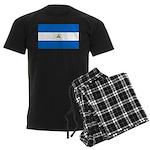 Nicaragua Men's Dark Pajamas