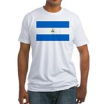 Nicaragua Fitted T-Shirt