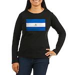Nicaragua Women's Long Sleeve Dark T-Shirt