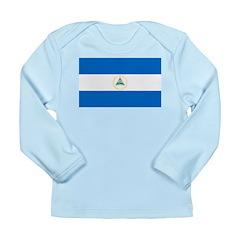Nicaragua Long Sleeve Infant T-Shirt