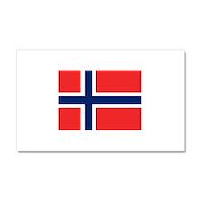 Norway Car Magnet 20 x 12