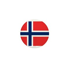 Norway Mini Button (10 pack)