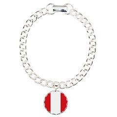 Peru Charm Bracelet, One Charm