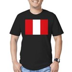Peru Men's Fitted T-Shirt (dark)