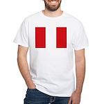 Peru White T-Shirt