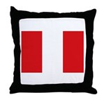 Peru Throw Pillow