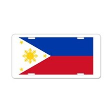 Philippines Aluminum License Plate