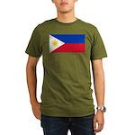 Philippines Organic Men's T-Shirt (dark)