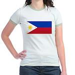 Philippines Jr. Ringer T-Shirt