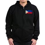 Philippines Zip Hoodie (dark)
