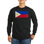 Philippines Long Sleeve Dark T-Shirt