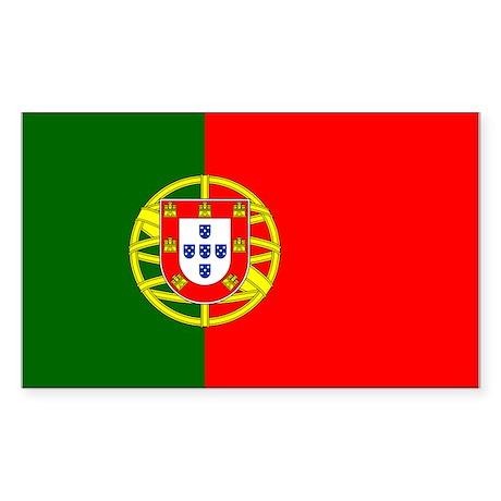 Portugal Sticker (Rectangle)