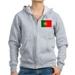 Portugal Women's Zip Hoodie