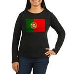 Portugal Women's Long Sleeve Dark T-Shirt