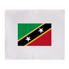 Saint Kitts and Nevis Throw Blanket