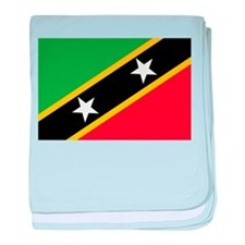 Saint Kitts and Nevis baby blanket