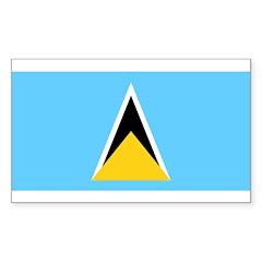 Saint Lucia Decal