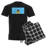 Saint Lucia Men's Dark Pajamas