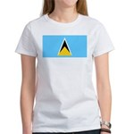 Saint Lucia Women's T-Shirt