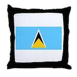 Saint Lucia Throw Pillow
