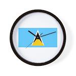 Saint Lucia Wall Clock