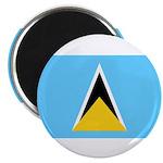 Saint Lucia Magnet