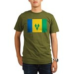 Saint Vincent and the Grenadi Organic Men's T-Shir