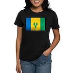 Saint Vincent and the Grenadi Women's Dark T-Shirt