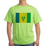 Saint Vincent and the Grenadi Green T-Shirt