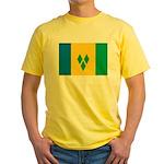 Saint Vincent and the Grenadi Yellow T-Shirt