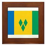 Saint Vincent and the Grenadi Framed Tile