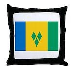 Saint Vincent and the Grenadi Throw Pillow