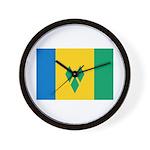Saint Vincent and the Grenadi Wall Clock