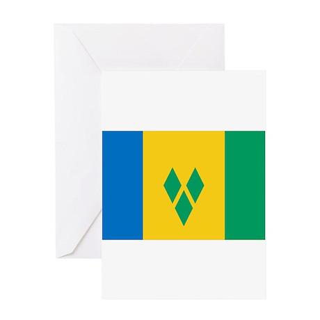 Saint Vincent and the Grenadi Greeting Card