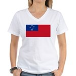 Samoa Women's V-Neck T-Shirt