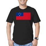 Samoa Men's Fitted T-Shirt (dark)