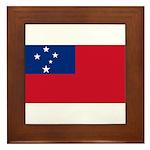 Samoa Framed Tile