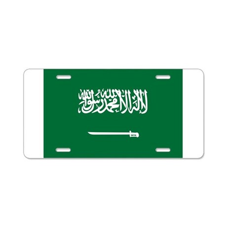 Saudi arabia aluminum license plate by flagexpresstees for Aluminum kitchen cabinets saudi arabia