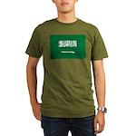 Saudi Arabia Organic Men's T-Shirt (dark)