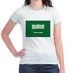 Saudi Arabia Jr. Ringer T-Shirt