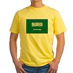 Saudi Arabia Yellow T-Shirt