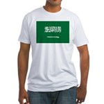 Saudi Arabia Fitted T-Shirt