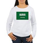 Saudi Arabia Women's Long Sleeve T-Shirt