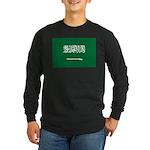 Saudi Arabia Long Sleeve Dark T-Shirt