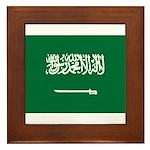 Saudi Arabia Framed Tile