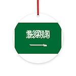 Saudi Arabia Ornament (Round)