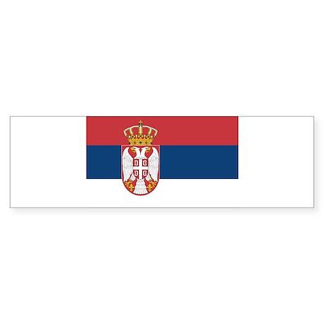 Serbia Sticker (Bumper)