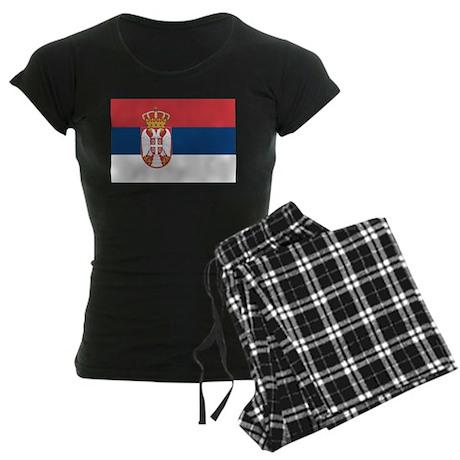 Serbia Women's Dark Pajamas