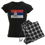 Serbia Women's Dark Pajamas